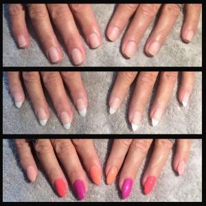 Calgel nail extension